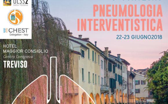 3° Convegno di Pneumologia Interventistica – Treviso – 22-23 giugno 2018
