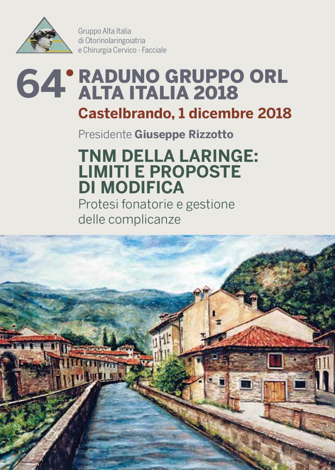 64° raduno gruppo ORL Alta Italia – Castelbrando – 1 Dicembre 2018
