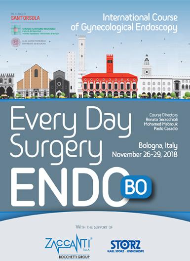 International course of Gynecological Endoscopy – Bologna – Dal 26 al 29 Novembre 2018