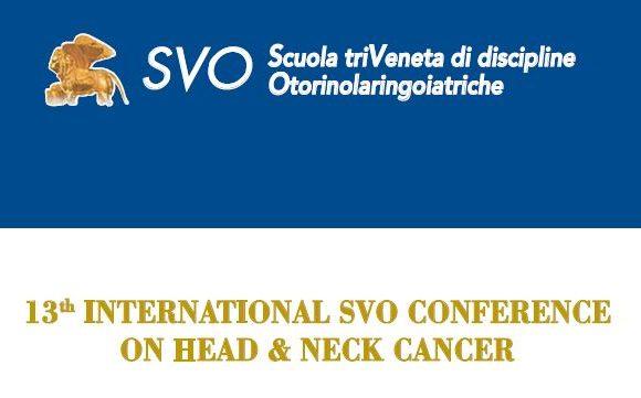 13th International SVO Conference on Head & Neck Cancer – Mestre – dal 19 al 22 Giugno 2019