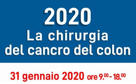 LA CHIRURGIA DEL CANCRO DEL COLON – Campus Viticolo ed Enologico, CIRVE, Conegliano (TV) – 31 gennaio 2020