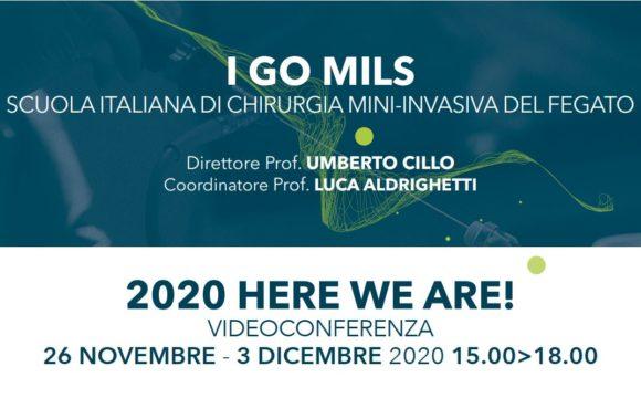 I GO MILS – 2020 HERE WE ARE! – Videoconferenza – 26 Novembre e 3 Dicembre 2020