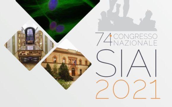 74° CONGRESSO NAZIONALE SIAI 2021 – EDIZIONE IBRIDA Online e in presenza – 24 E 25 SETTEMBRE 2021