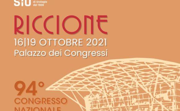 94° CONGRESSO NAZIONALE SIU 2021 – RICCIONE – DAL 16 AL 19 OTTOBRE 2021